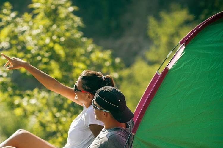 Camping in Muravera