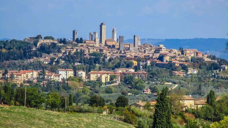 Camping tra i borghi della Toscana