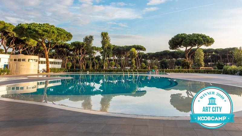 Los 10 mejores Campings y Complejos de las ciudades italianas de l'arte: el Camping Village Roma Capitol - Roma (RM) gana el premio Art City 2019