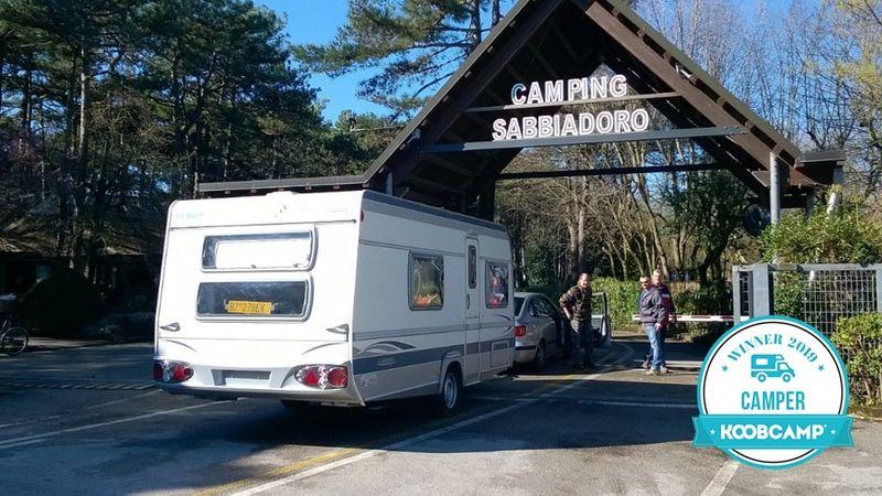 "Les 10 meilleurs Campings italiens ""Camper 2019"": le Camping Sabbiadoro - Lignano Sabbiadoro (UD) gagne"