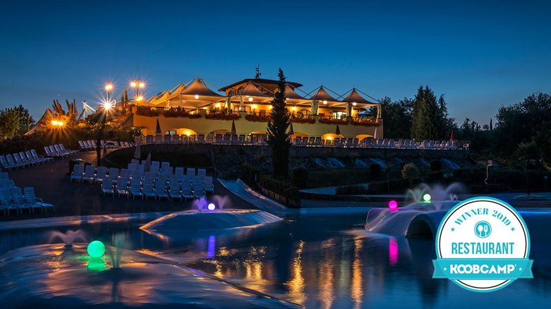 Los 10 mejores Campings y Complejos con el Mejor Restaurante del 2019: el Norcenni Girasole Club en Figline Valdarno (FI), Toscana, gana