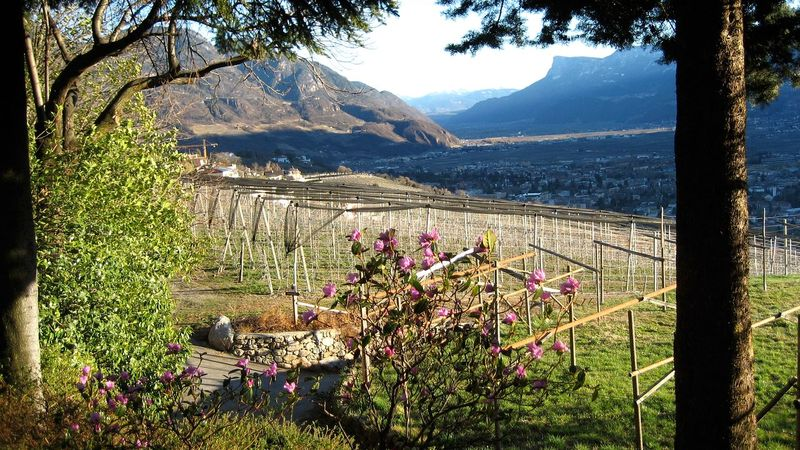 Merano, rinomata località tra le montagne dell'Alto Adige