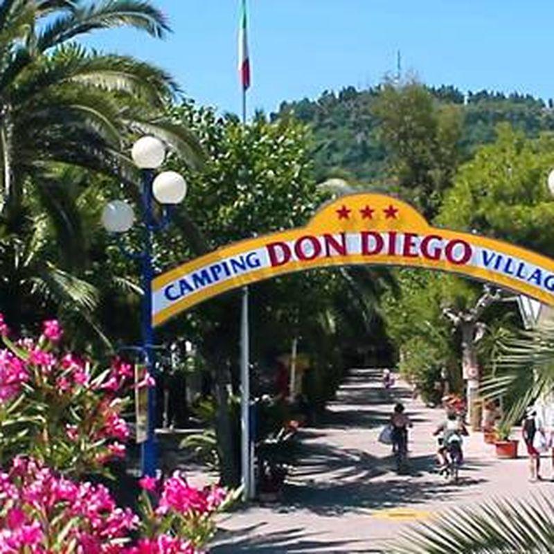 Volledige aansluiting camping in San Diego