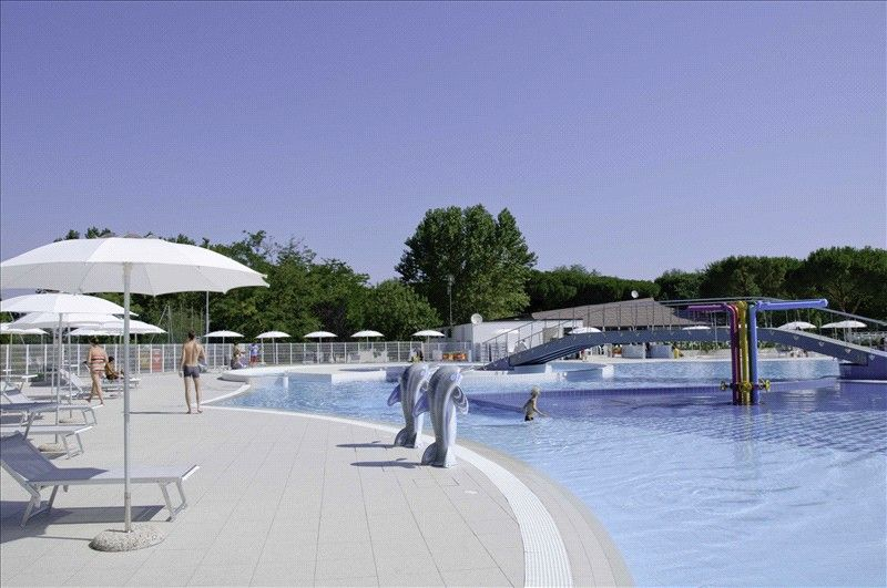 Camping Village with swimming pool, Ravenna