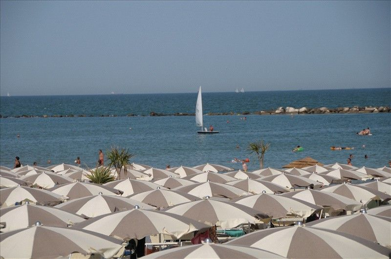 The beach at Punta Marina Terme