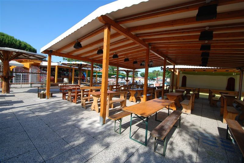 I tavoli del bar