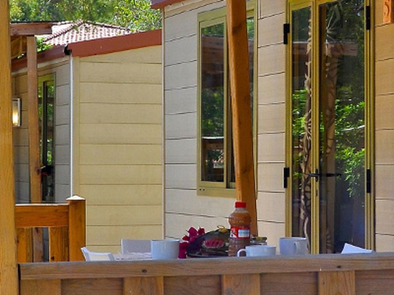 Mobilheime im Camping Village Tiliguerta