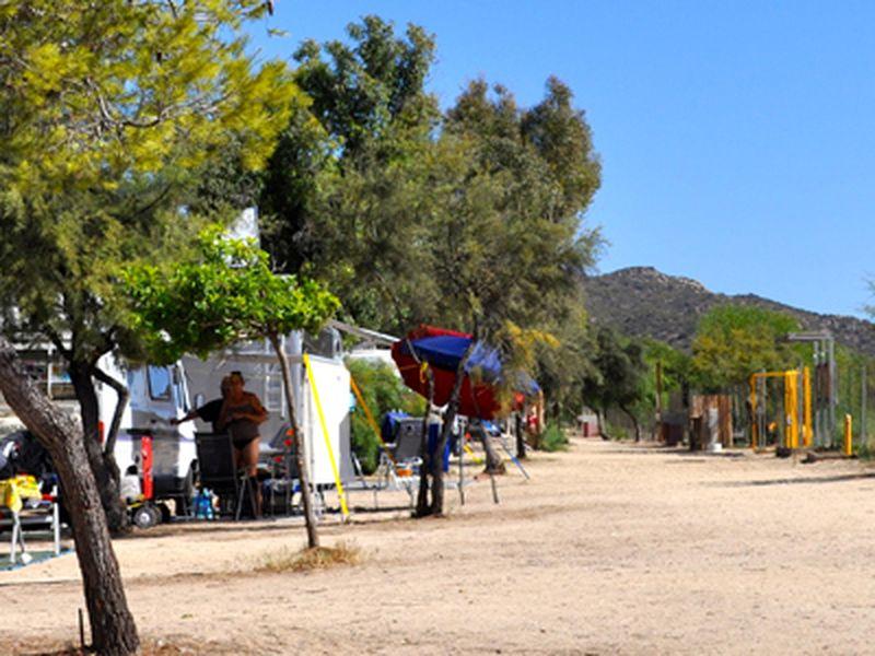 Camping Village auf Sardinien
