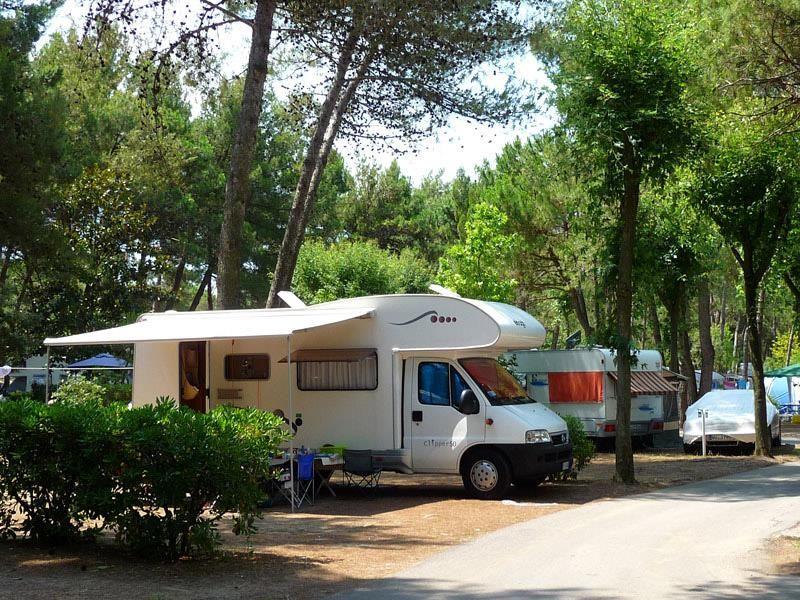 Camping sul mare