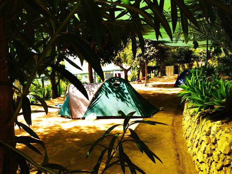 Campeggio ad Avola, in Sicilia