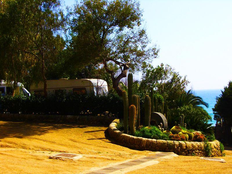 Piazzole per camper, Sicilia