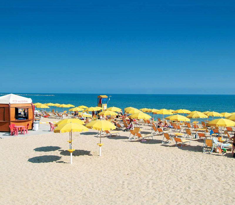 Spiaggia sabbiosa in Abruzzo