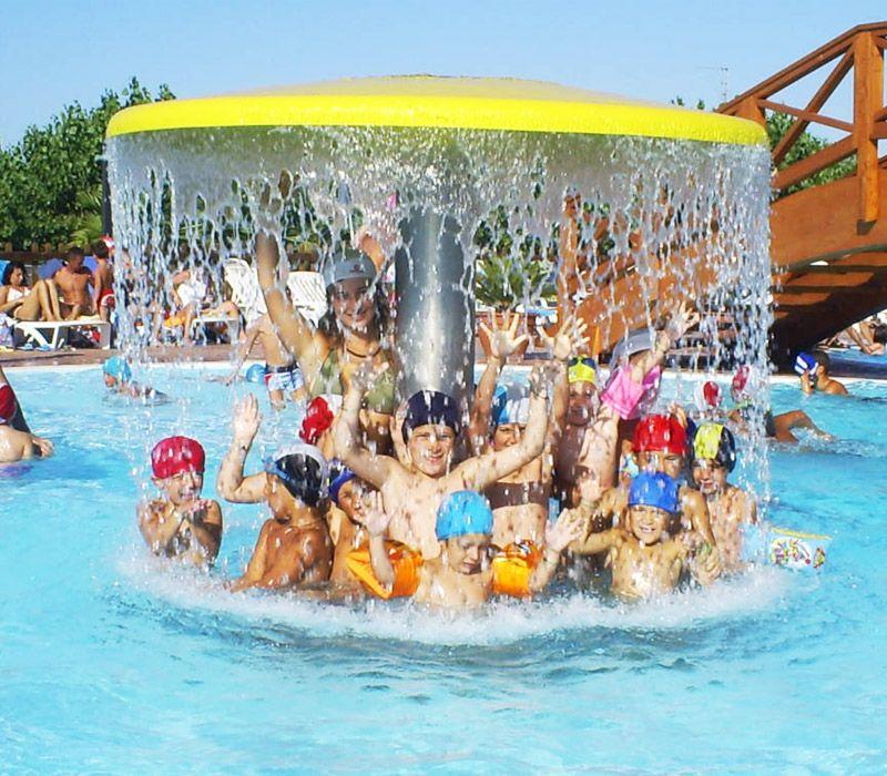 Campeggio con piscina per bambini, in Abruzzo