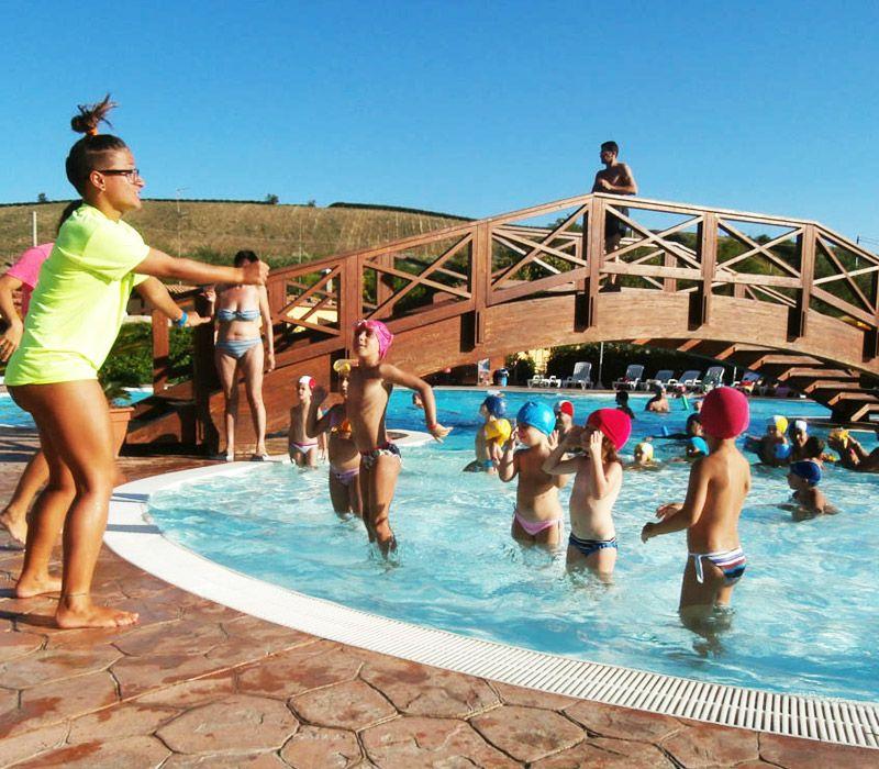 Animazione per bambini in piscina