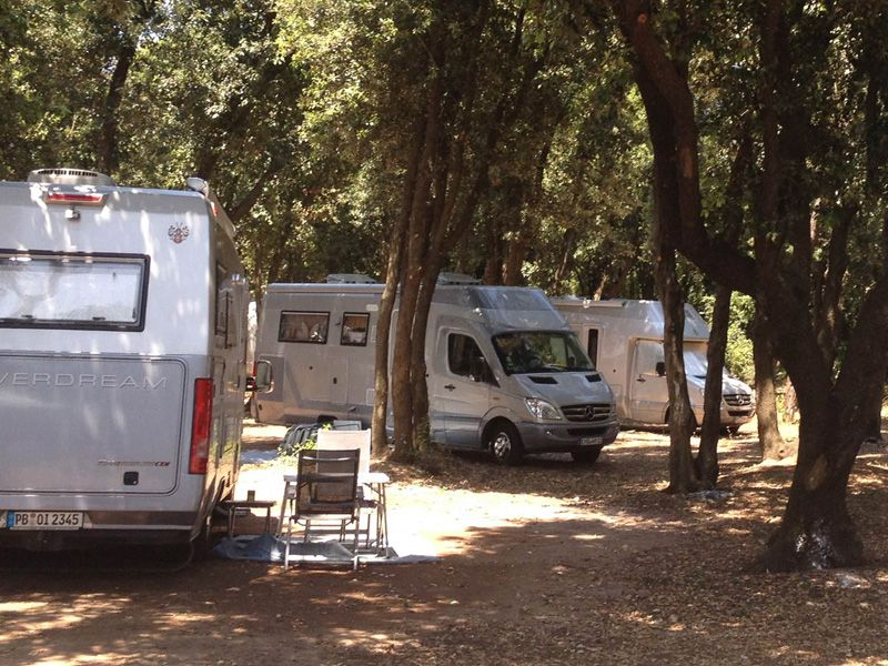Il Campeggio del Camping Village Parco della Gallinara