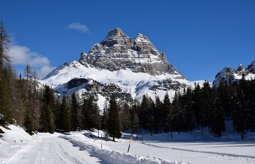Settimana bianca in camping: sciare in Trentino-Alto Adige
