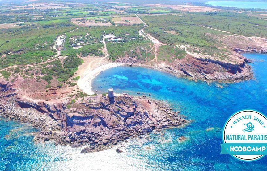 """Los 10 mejores Campings y Complejos """"Natural Paradise"""" del 2019: el Campeggio Villaggio Torre dle Porticciolo - Alghero (SS), en Cerdeña, gana"""
