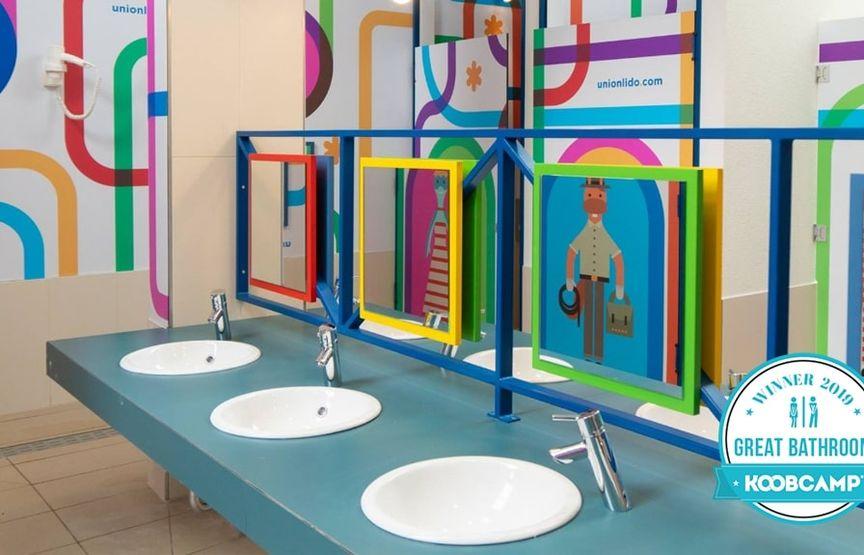 """Los 10 mejores Campings y Complejos en la categoría del nuevo premio """"Great Bathroom"""" 2019: el Camping Park Sexten - Sesto (BZ) gana"""