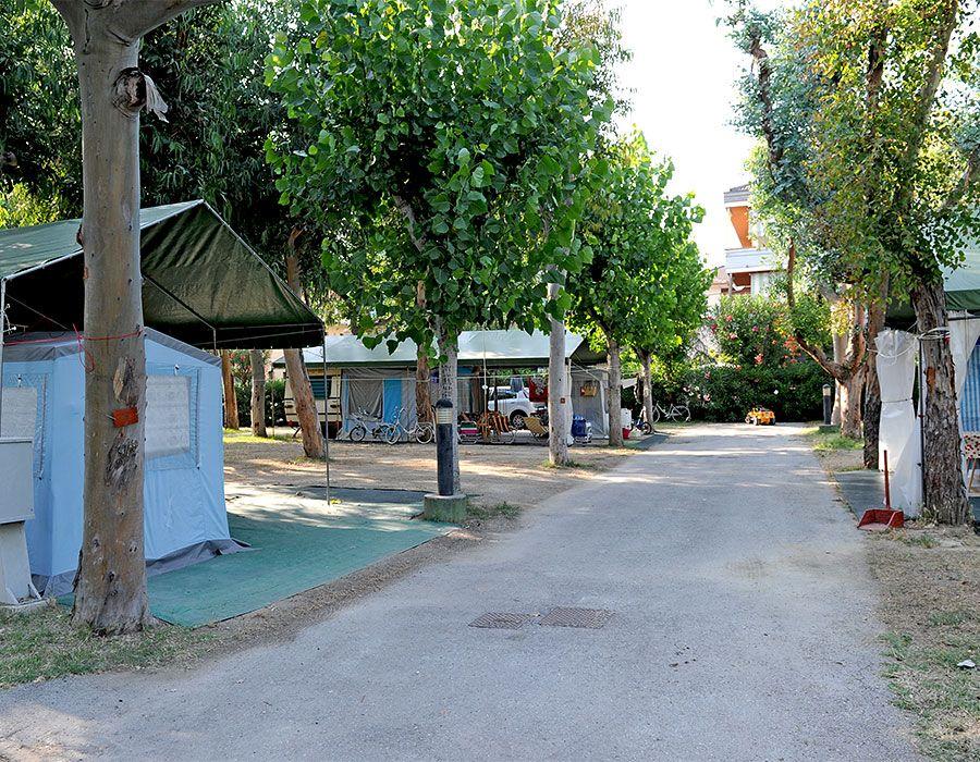 Campeggio ad Alba Adriatica